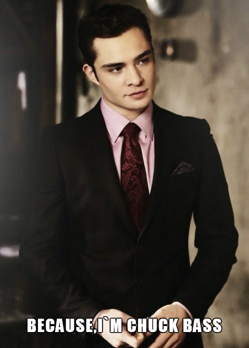 The Filthy Youth  (Ed Westwick) - I'm Chuck Bass