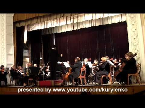 B.K.Przybylski. Concerto Classico for accordion and orchestra. Part II
