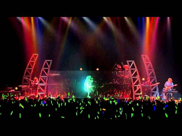 18. Hatsune Miku  - Ura Omote Lovers (Two-Faced Lovers) ~ Project DIVA Live Solo Concert 2010 HD