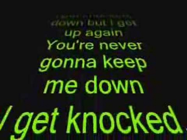 Tubthumping (I Get Knocked Down) Lyrics