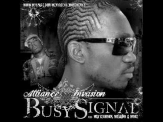 BUSY SIGNAL - HAIR DRESSER SHOP - DI GENIUS