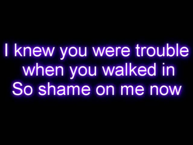 Taylor Swift - I Knew You Were Trouble Letra