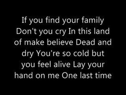 Breaking Benjamin - So Cold lyrics
