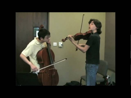 Let It Be - atles: Michael Province & Nathan Chan on Violin and Cello