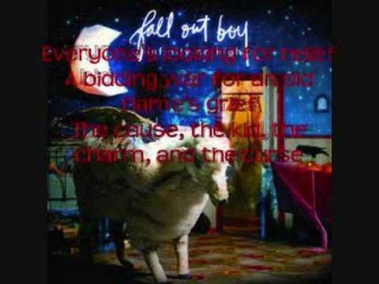 FOB- You're Crashing But You're No Wave- with lyrics