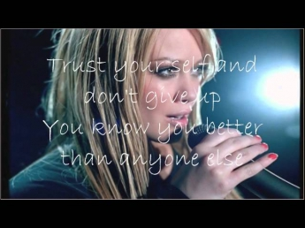 Hilary Duff Fly withc lyrics