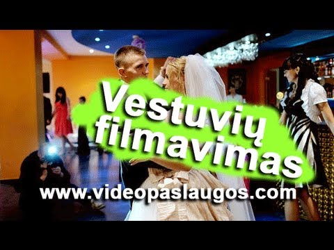 VESTUVIU VIDEO KLIPAS 2011 J&P Vestuviu fragmentas