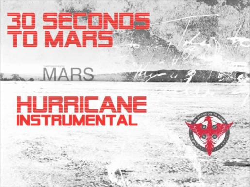 30 Seconds To Mars- Hurricane ( INSTRUMENTAL) HQ