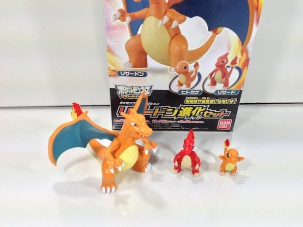 Review: Pokémon Plastic Model Collection (PokéPla) -- No. 29 Charizard Evolution Set