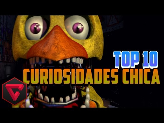 TOP 10 CURIOSIDADES DE CHICA | Five Nights at Freddy's