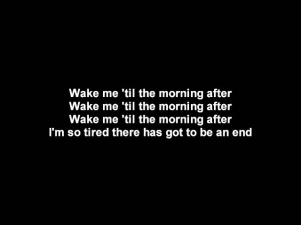 Dead By Sunrise- Morning After | Lyrics on screen | HD