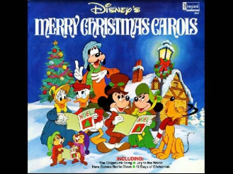 We Wish You a Merry Christmas by Walt Disney Cartoons