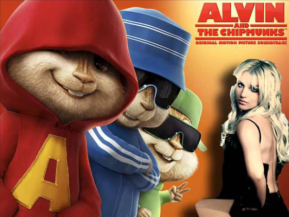 Britney Spears Till The World Ends Alvin And The Chipmunks
