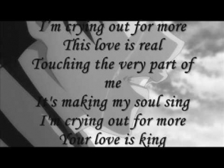 WILL YOUNG - YOUR LOVE IS KING  + LYRICS