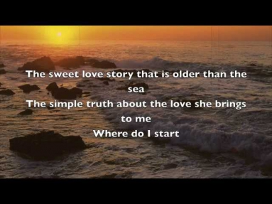 Where Do I begin with lyrics - Andy Williams [Love Story]