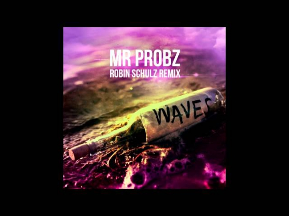 Mr Probz - Waves (Robin Schulz Radio Edit) [Cover Art]