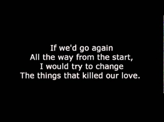 Scorpions-I'm still loving you Lyrics
