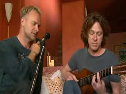 STING SHAPE OF MY HEART LIVE PERFORMANCE WITH GUITAR